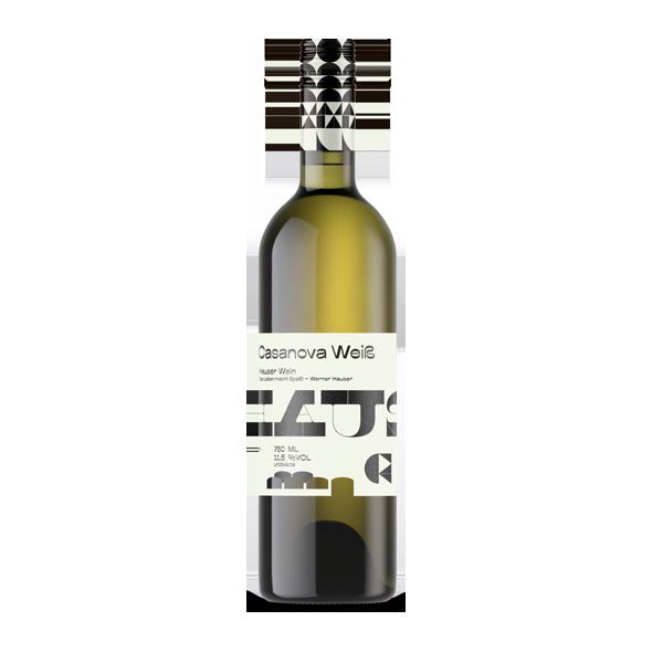Casanova Weiß. Freundinnen und Freunde des fruchtigen Geschmacks sind bei diesem Wein bestens aufgehoben. Der Casanova ist eine Cuvee aus Muskateller und Sauvignon Blanc. Sehr mild in der Säure mit dezenter Fruchtsüße.